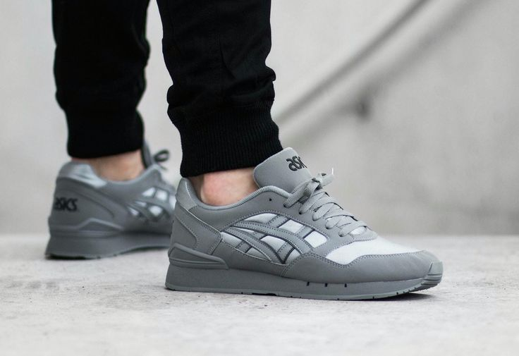asics gel atlanis noir