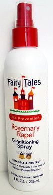 FAIRY TALES Rosemary Repel Lice Prevention Leave-In Conditioning Spray (8 oz)