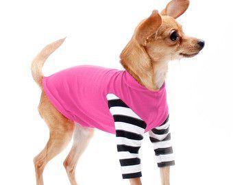 Hund seltsame Streifen Pullover schwarz & weiß von NakedDogDesign