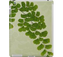 iPad Case/Skin.  #fern #maidenhair fern #fernart  #fernfrond #fernleaves #fernmacro #macro #sandrafoster