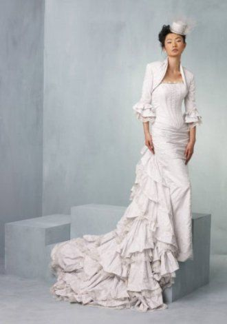 Contemporary Punk Wedding Dress Frieze - Womens Dresses & Gowns ...