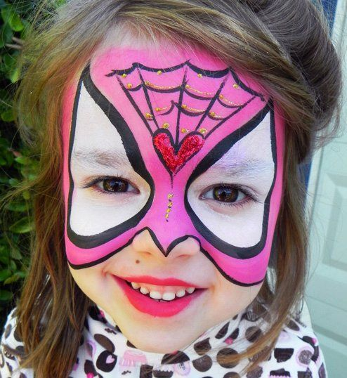 1000 images about super heroes faces on pinterest face painting designs ninja turtles and. Black Bedroom Furniture Sets. Home Design Ideas