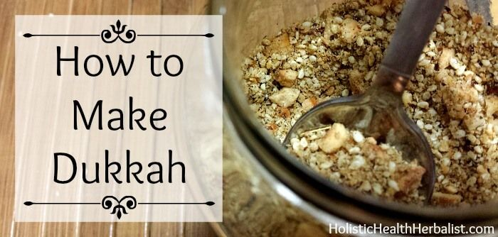 If you haven't tried Dukkah yet, you need to. Mix it into butter, oil, and dressings for salads or breads and top grilled meats and fresh fruit! Delicious!