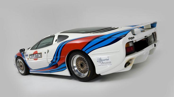 Jaguar XJ220 Race Car Martini Racing livery 1993