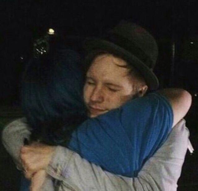 BEAUTIFUL HUG! I close my eyes when I hug:)