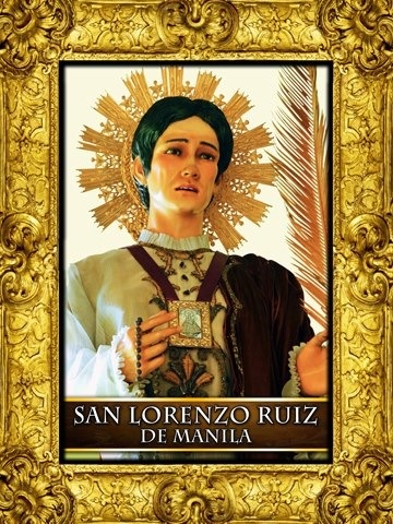 st lorenzo ruiz Catholics, especially filipinos, celebrate today, september 28, the feast of st lorenzo ruiz and companion martyrs at the good shepherd convent in quezon city, a.
