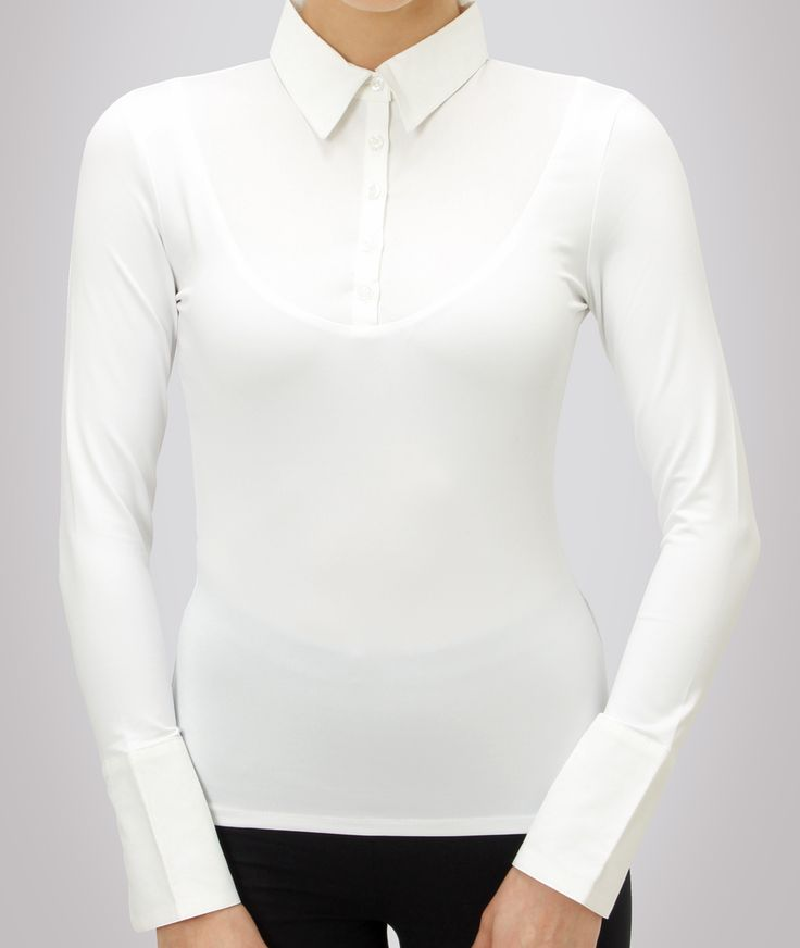 Skinny Shirt - CLASSIC LONG SLEEVE WHITE, $76.00 (http://www.skinnyshirt.com/classic-long-sleeve-white/)
