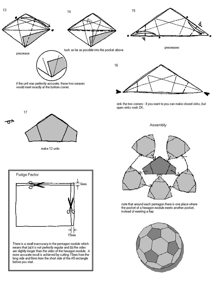 1091 best origami modular images on pinterest