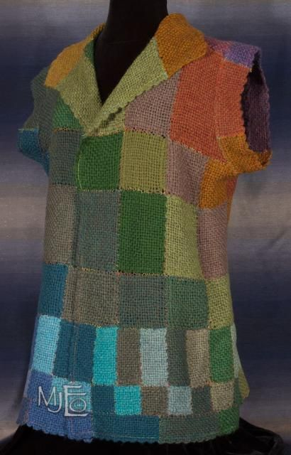 Heather Hills Pin Loom Tunic Front