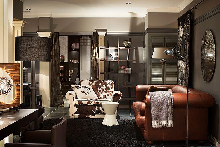 Baxter Mickey Extra loveseat en Baxter Alfred P sofa - Doornebal Interiors