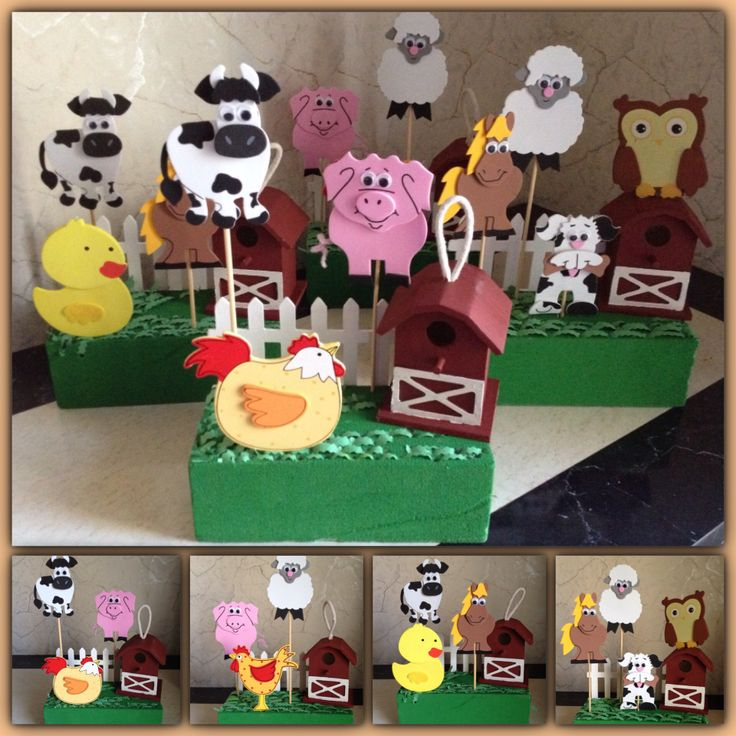 8 best barnyard theme images on pinterest farms for Michaels crafts birthday parties