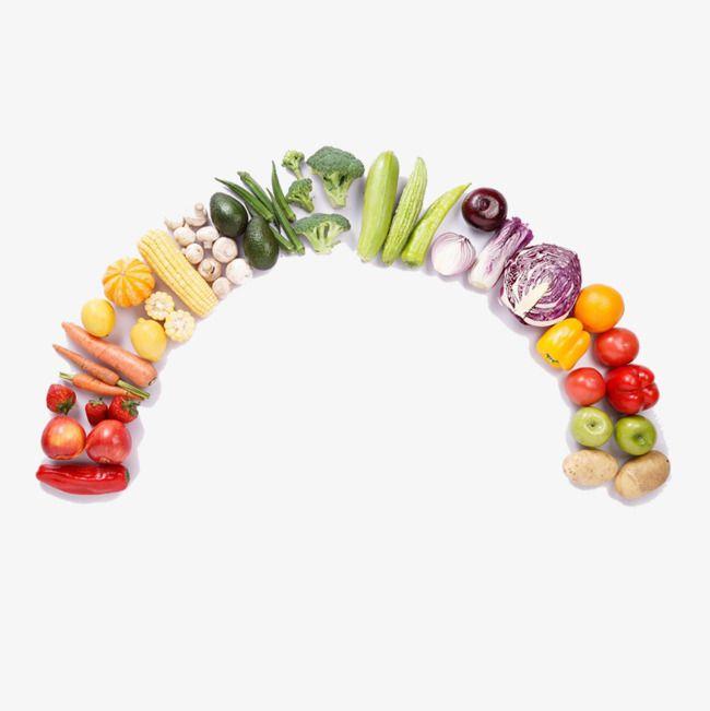 Poner En La Forma De Un Arco Iris De Frutas Y Verduras Arco Iris De Frutas Frutas Y Verduras Fotos Frutas Y Verduras
