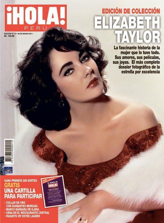 Elizabeth Taylor - Hola! Magazine Cover [Peru] (30 March 2011)