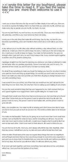 The 25+ best Love letter for boyfriend ideas on Pinterest Love - love letter samples for him