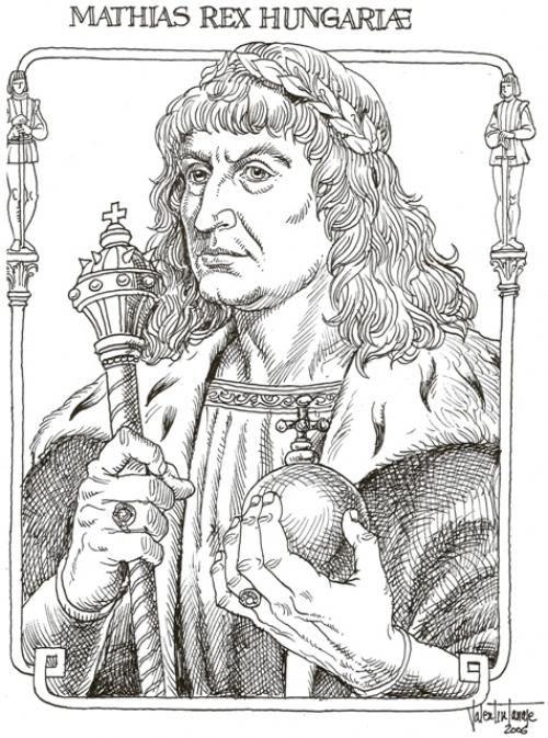 Hunyadi Mátyás (Kolozsvár, 1443. február 23. – Bécs, 1490. április 6.)