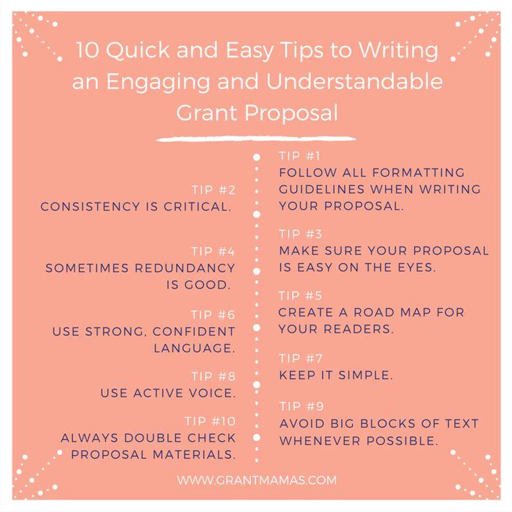 Grant writing help free tips