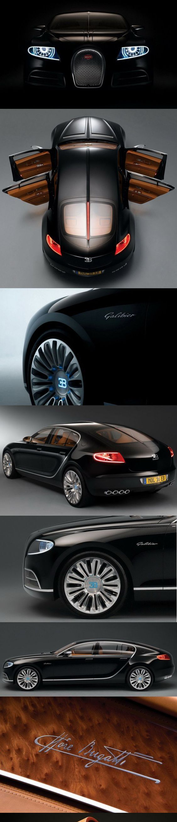 MISTRESS: Black Exterior, Mahogany Interior, Champagne Lining, A Little  Bling Bugatti Galibier   Luxury Car Connection