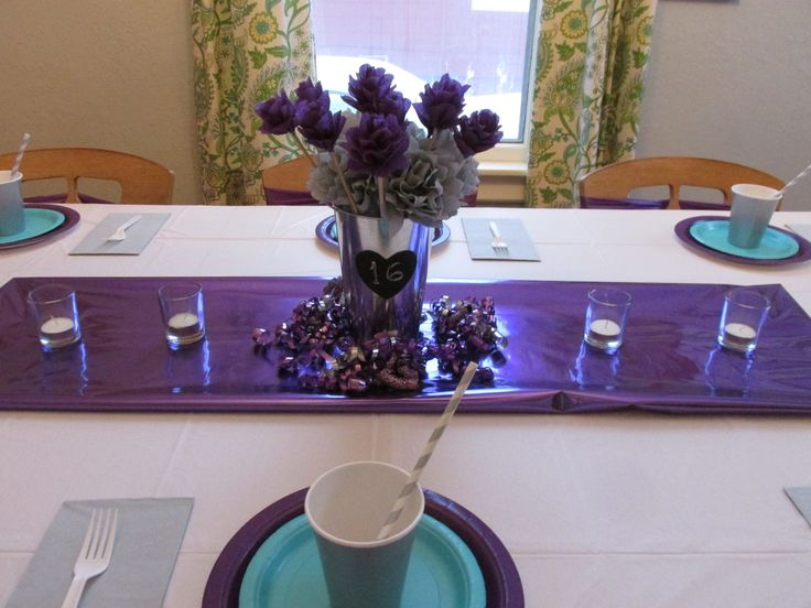 Pin by linezze mateo on 15 and 16 year birthdays pinterest for Flower arrangements for sweet 16