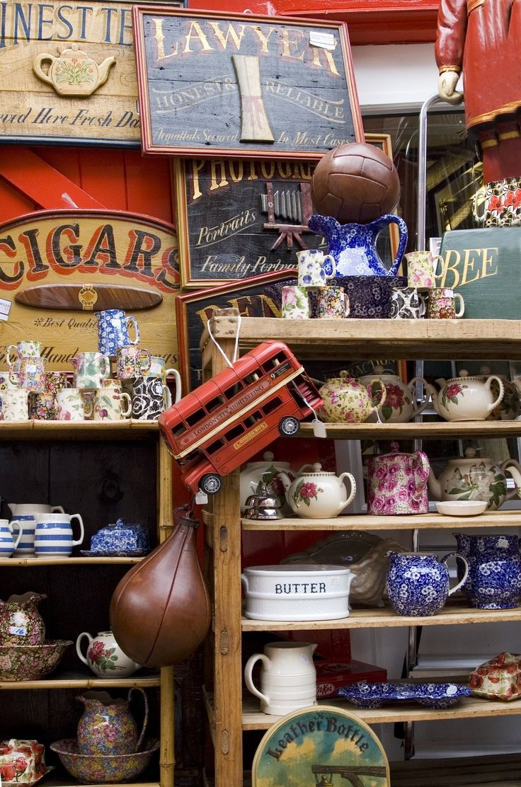 I like shopping at flea markets, garage sales, and antique fairs... in theory. I love the idea of hunting for and finding a treasure, but the reality is that these places can be overwhelming to navigate, particularly if you don't know what to look for, or you're not sure if what you're finding is a good deal.   	   That's where this list comes in handy.