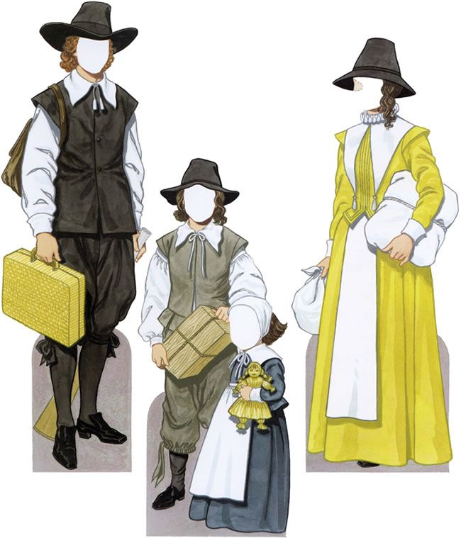 Pilgrim Clothes
