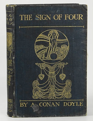 The Sign of Four by Arthur Conan Doyle~ Souvenir Edition (1901)~ Newnes Sherlock | eBay