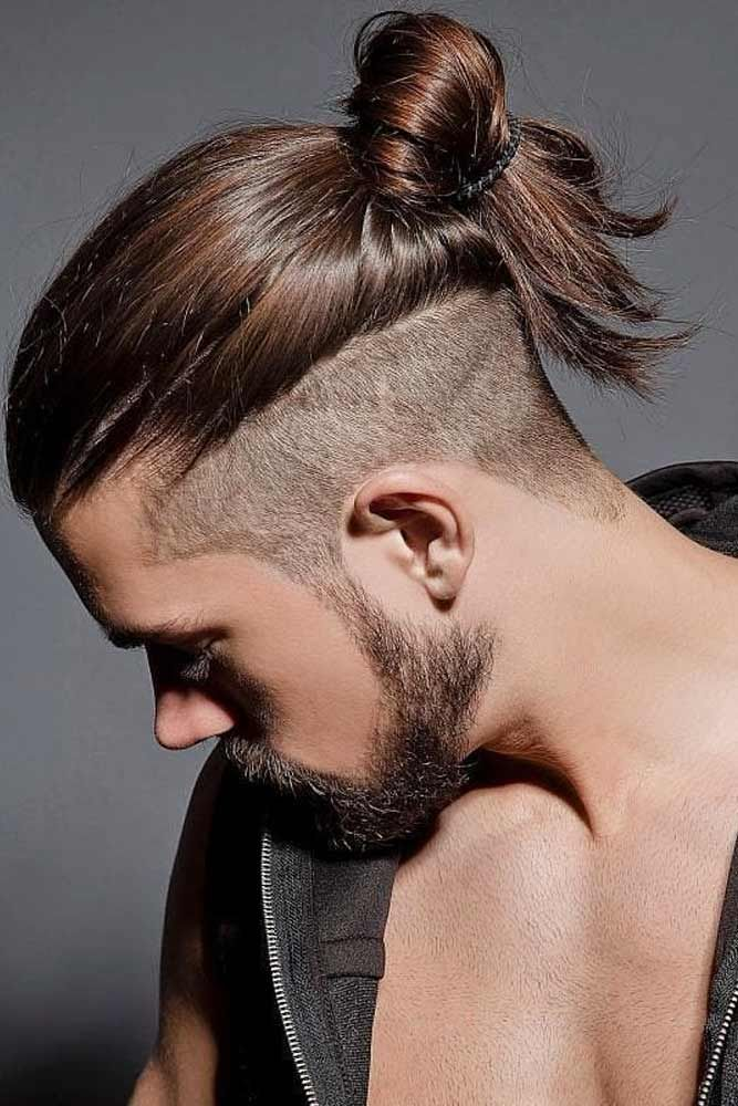 11++ Long hair shaved sides men trends