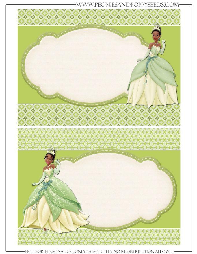 Http Peoniesandpoppyseeds Com 2013 04 Princess Tiana The Princess And The Frog Free Printable