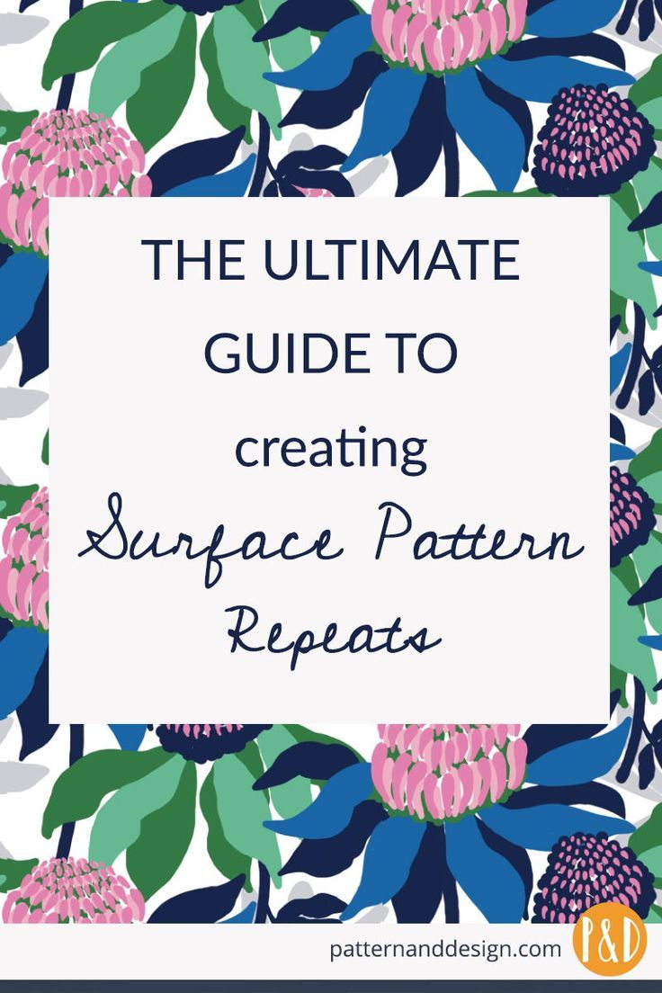 As A Surface Pattern Designer It S Essential To Learn How To
