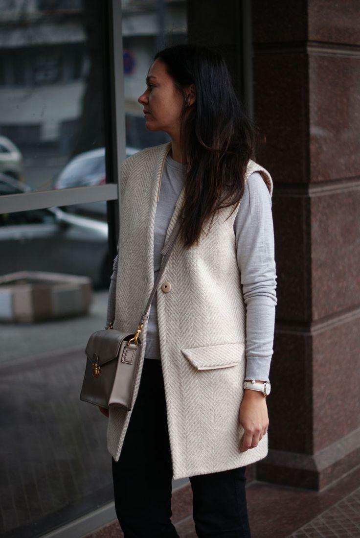#Пальто без рукавов или удлиненный #жилет – идеальное решение для девушки, неравнодушной к моде! #пальтобезрукавов#nklook#madeinukraine