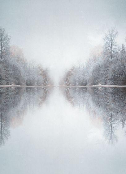 : Beautiful Reflections, Winter Scene, Winter Trees, Trees Reflection, Snow Snow Lovely Winter, Winter Reflections, Landscape, Beautiful Winter