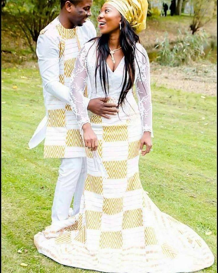 Wedding africana dress