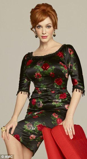 Christina Hendricks in the new Mad Men series - she is stunning!