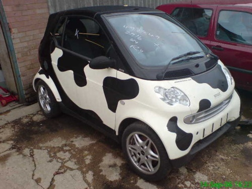 Moo-ve over... I want this car!!!!