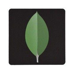 10GEN - Green leaf on Black background Sticker Find us on facebook at https://www.facebook.com/JNLondon