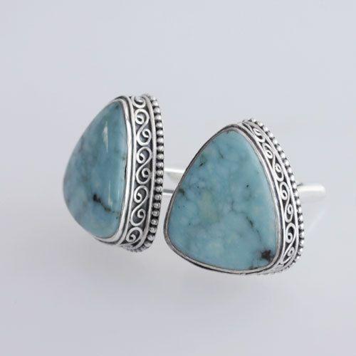 Top Quality Arizona Turquoise Cufflinks, Sterling Silver Cuff Links Jewelry, Gift For Him, Handmade Cufflinks, Designer Cufflinks, Inc-9