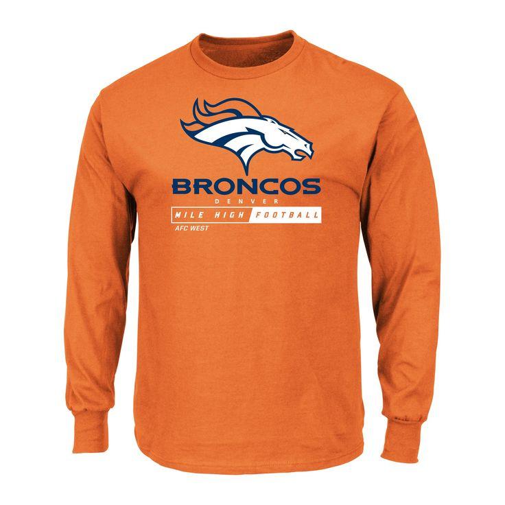 T-Shirt Denver Broncos Team Color XL, Men's, Multicolored