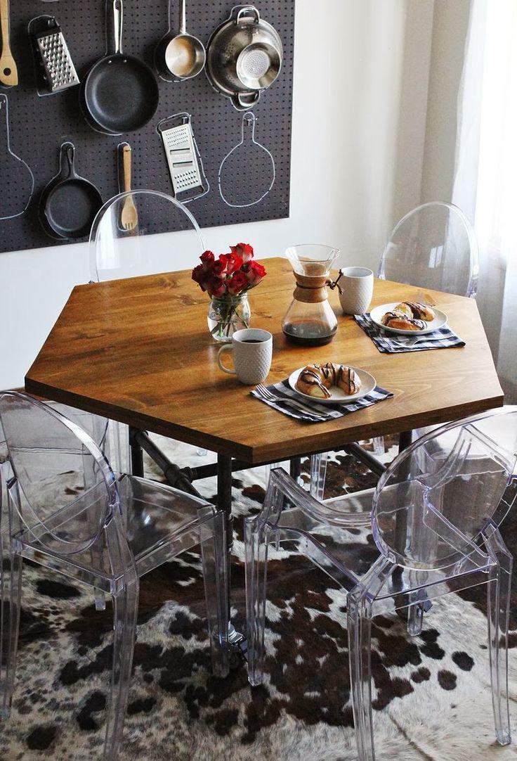 Bútor barkács: ebédlőasztal DIY - Inspirációk Csorba Anitától