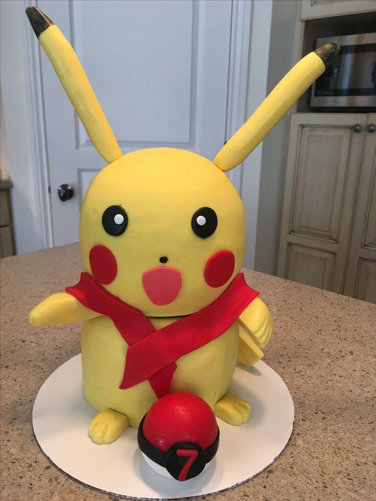 Pikatchou cake