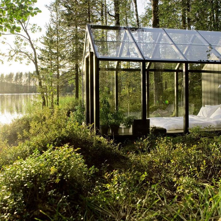 A bedroom shed in touch with nature  by Kekkilä in Finland