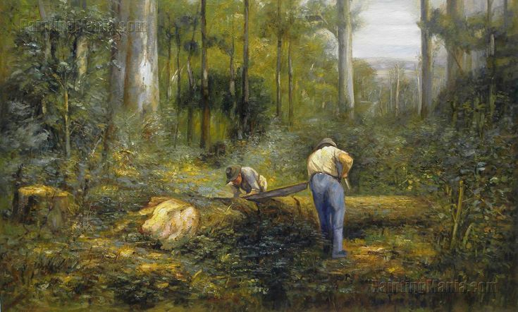 Bush Sawyers by Frederick McCubbin