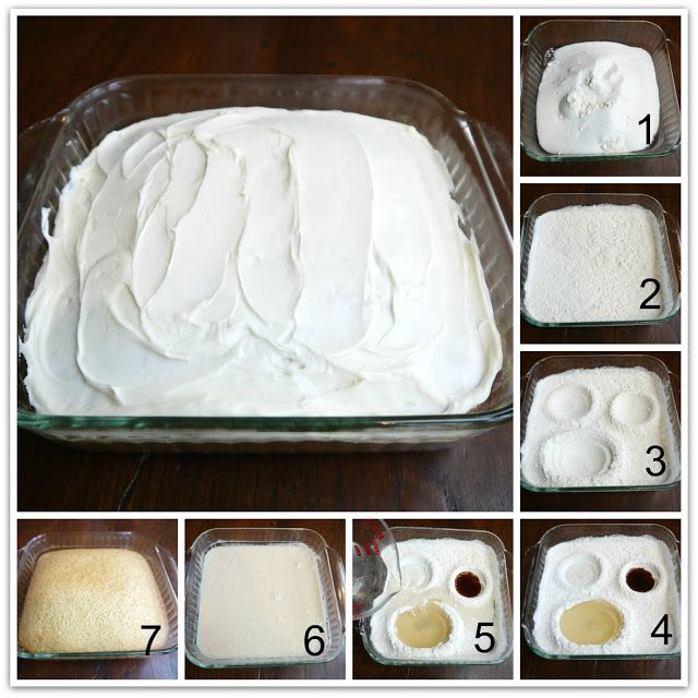Lemon Crazy Cake. No Eggs, Milk, Butter or Bowls! Mix everything in your baking pan! Super moist! Super Easy!