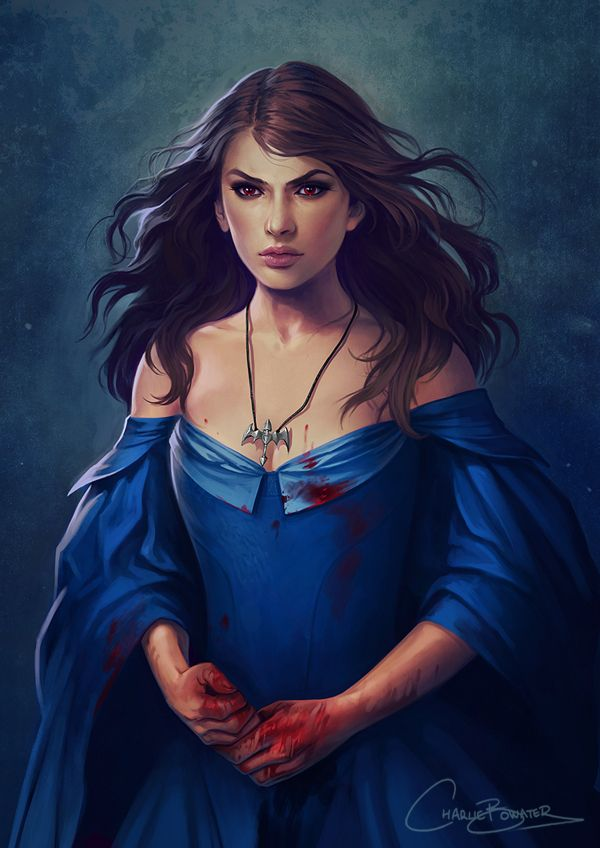 Elide [Art by Charlie Bowater]