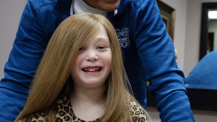 Gorgeous Bridget gets a brand new wig thanks to people who donate their hair through #wigsforkids  http://www.transitionshairforwomen.com.au/blog/what-happens-when-you-donate-your-hair-to-wigs-for-kids/