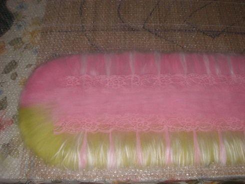 Раскладка горжетки с кружевом - Ярмарка Мастеров - ручная работа, handmade