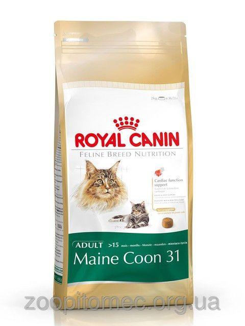 Корм Royal Canin (Роял Канин) MAINE COON ADULT для кошек породы мейн-кун в возрасте старше 15 месяцев  10 кг, фото 1