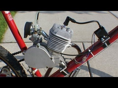 How to Build a Motorized Bicycle - Part 3 - YouTube