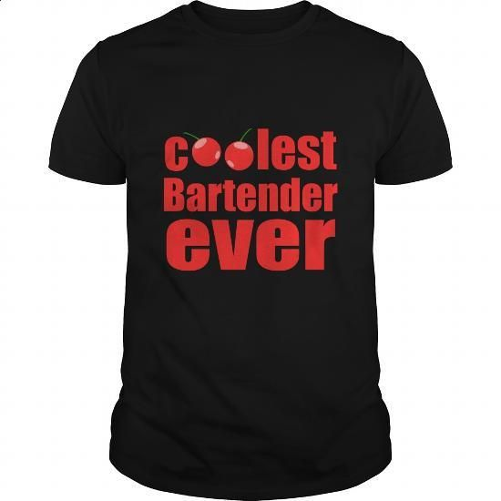 Coolest Bartender Ever Great Gift For Any Cool Bartender Fan - #dress shirts for men #sweatshirt design. ORDER NOW => https://www.sunfrog.com/Drinking/Coolest-Bartender-Ever-Great-Gift-For-Any-Cool-Bartender-Fan-Black-Guys.html?60505