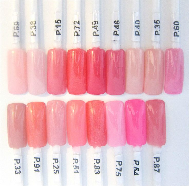 127 Best Dip Nails Color Swatches Images On Pinterest