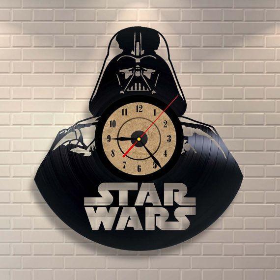 Star Wars Vinyl Record Clock $34.95