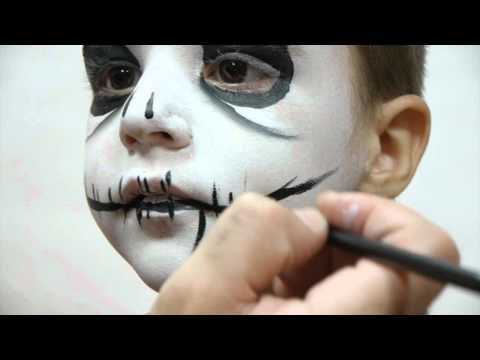 Maquillaje de fantasia, propuestas Halloween 2012 TEN IMAGE. Paso a paso Esqueleto